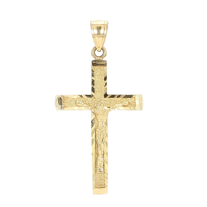 CROSS PENDANT-10K YELLOW GOLD| 3.0G