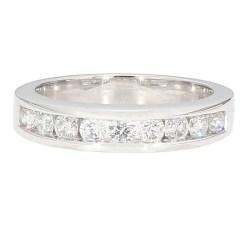 "DIAMOND BRIDAL SET- 14K WHITE GOLD| 13.3G| 2.00CT TDW| SIZE 7"""
