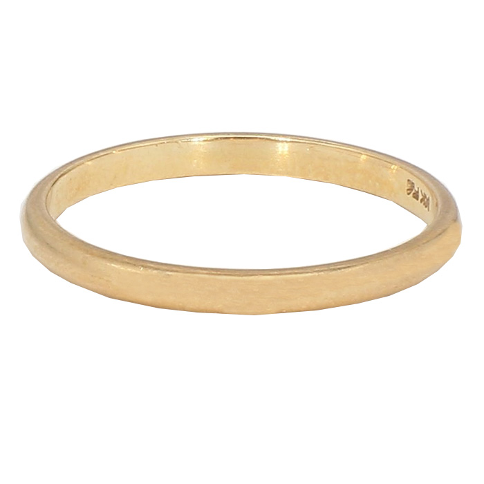 GOLD BAND- 14K YELLOW GOLD 1.5G  SIZE 7.50