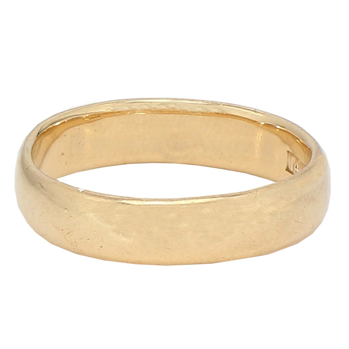"""GOLD BAND- 14K YELLOW GOLD