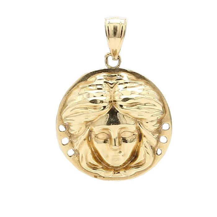 GOLD PENDANT- 10K YELLOW GOLD| 3.4G