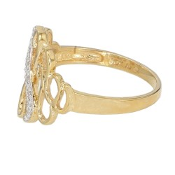 """10K YELLOW GOLD RING  3.0G  SIZE 10"""""""