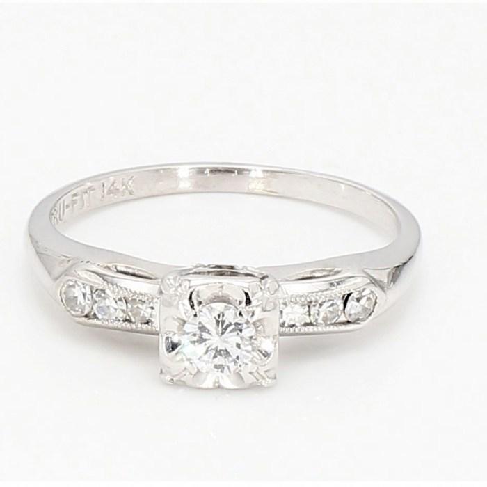 Old cut Diamond Ring R2272E