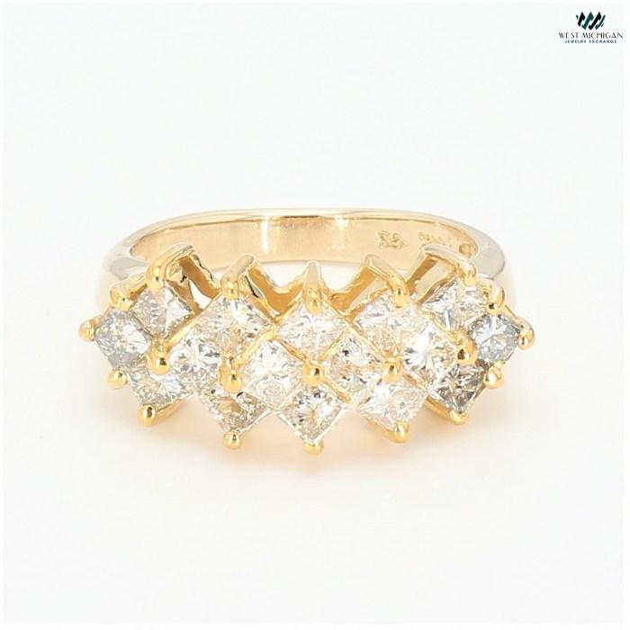 Diamond Cluster   Ring R11729